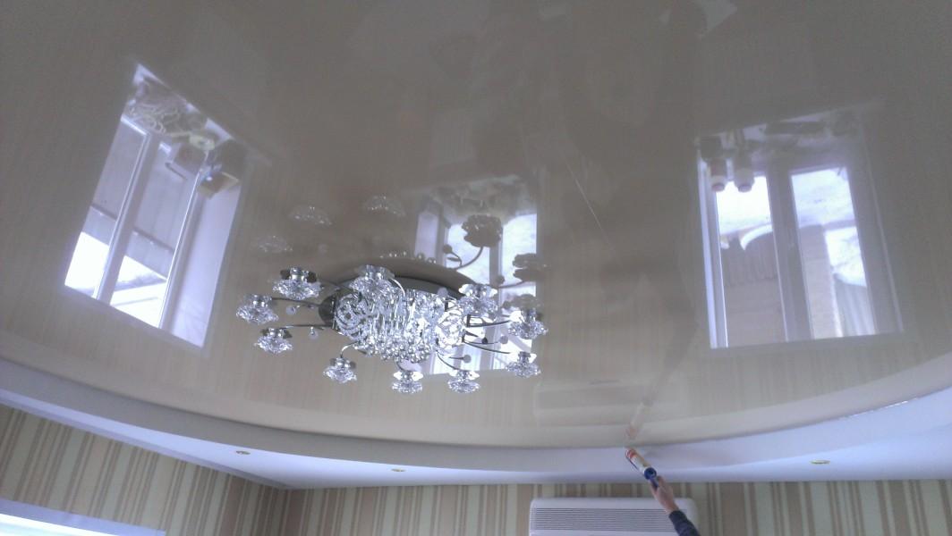 Натяжные потолки донецк фото